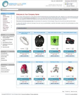 X-Cart 4.4 Template, Lumino FreshApple