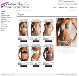 X-Cart 4.3 Boutique Template