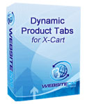Dynamic Product Tabs for XCart