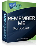 Remember Me for X-Cart
